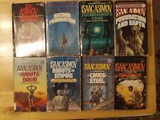 Lot of 8 Paperbacks by Isaac Asimov Foundation & Robot Books