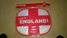 BULK BUY 15 Qty England Flag Car Window Sun Shade Covers (Pack of 2) NEW PRICE