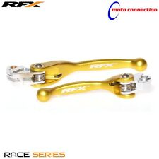 RFX FLEXIBLE LEVER SET YELLOW SUZUKI RMZ 250 450 2007-2016 BRAKE & CLUTCH 30100