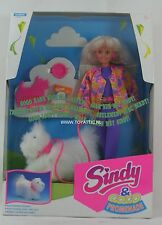 Sindy & gogo promenade doll with walking dog by hasbro from 1993 NRFB