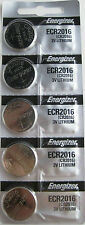 Energizer ECR2016 (CR2016) 3V Lithium Coin Batteries (1 pack of 5)