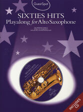 Sixties Hits Playalong for Alto Saxophone Sax Sheet Music Book with CD