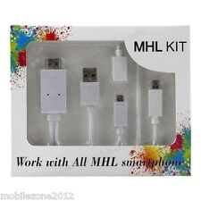 MHL to HDMI media adapter full 1080p for HUAWEI Ascend D Quad XL Ascend D Quad
