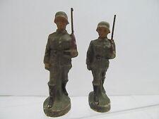 MES-47915 Alte Masse Soldaten ohne Herstellerangabe H:ca.70mm