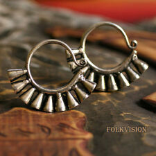 FOLKVISION ETHNIC TRIBAL MIAO HANDMADE EARRINGS / JE305