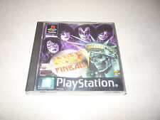 KISS PINBALL SONY PLAYSTATION 1 ps1 PAL