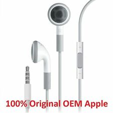 100% Genuine Original Apple iPhone 4/5/6 EarPod Earphone Headset Remote & Mic