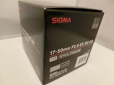 Brand NEW  Sigma 17-50 mm F2.8 EX DC OS HSM Lens for Nikon F mount ,APS-C size