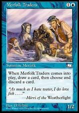 4x Tritoni Mercanti - Merfolk Traders MTG MAGIC WL Weatherlight Eng