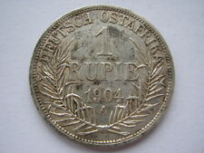 German East Africa 1904-A silver 1 Rupie VF
