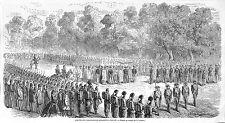 TOULON AMBASSADEURS ANNAMITES VIETNAM ANNAM GRAVURE ILLUSTRATION 1863