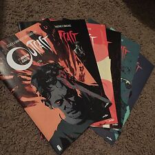 Outcast 1 2 3 4 5 6 First Print Lot 1st Kyle Barnes Cinemax Walking Dead SDCC