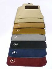 OEM GENUINE MERCEDES BENZ CARPET FLOOR MATS GREY CHARCOAL 97-04 SLK R170