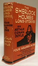 1959 The Sherlock Holmes Long Stories Sir Arthur Conan Doyle Four Volumes in 1