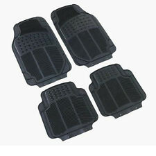 Alfa Romeo Brera 147 156 159 Rubber PVC Car Mats Heavy Duty 4pcs None Smell