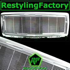 14-15 Chevy Silverado 1500 Chrome Full Factory Replacement Billet Grille Shell