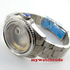 43mm sapphire glass sub Watch Case fit ETA 2824 2836 MOVEMENT C101
