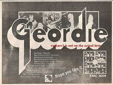 GEORDIE (AC/DC) Don't Do That Tour 1973 UK Press ADVERT 12x8 inches