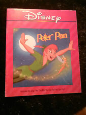 Disney Peter Pan w/o the song You can fly ~~~~~~~~~~BOOK ONLY~~~~~