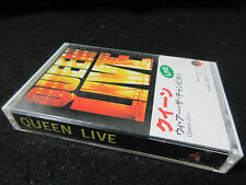 Queen Live Japan Cassette Tape Freddie Mercury Brian May We are The Champions