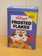 Kellogg's Frosted Flakes Tony The Tiger Tin Box Large 10 x 14 x 20 cms