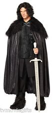 Jon Snow Game Of Thrones Night's Watch Deluxe Cloak Adult Size Licensed 01254408