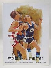 12/69 UTAH STATE at WASHINGTON HUSKIES basketball program