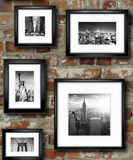 Muriva New York in Frame Wallpaper 102532 - NYC Painted Brick Wall Photo Frame