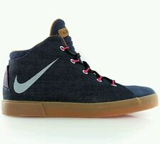 Nike LeBron XII NSW Denim Lifestyle QS Uk 12 EUR 47.5 Mightnight Navy 716424-400