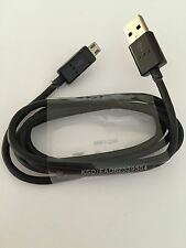 Genuine LG Optimus G4 G3 G2 High Speed 20AWG Micro USB Charger Lead Cable Black