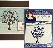 TREE OF WONDER Die D322 TATTERED LACE metal cutting dies - Trees,leaves,branches