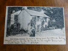 R120 DOVE COTTAGE, GRASMERE Postcard Valentine's Series c1902 WORDSWORTH