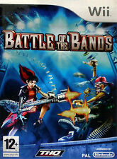 Battle of the Bands (Nintendo Wii, 2008) - European Version (Missing Instruction