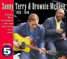 Terry Mcghee - Country Blues Troubadours 1938-48 CD