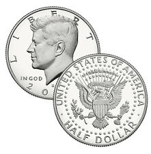 2014 - S Clad Proof Kennedy Half Dollar - 50th Anniversary Issue Ultra Cameo