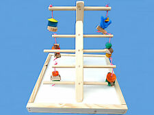 BIRD TOY PLAY GYM,PLAY PEN-LOTS A TOYS-LADDER STYLE GYM