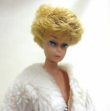 1962 Bubble Cut Barbie Blonde w/ Watermelon lips Thick Hair Straight Legs