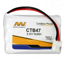 MI CTB47 3.6V NiMH Cordless Phone Battery BT-750,CT-905,906C,910,DSS2155,DSS2165