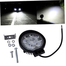 27W 12V 24V Spot Led Work Light Lamp Bar Boat Tractor Truck Off-road SUV ZJ