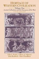 Heritage of Western Civilization Vol. I : Ancient Civilizations and the...