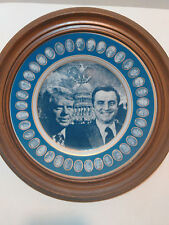 Rosenthal Inauguration USA Presidential plate James E Carter walter F Mondale 77