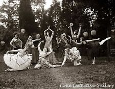 Exotic Flapper Dancers - 1924 - Historic Photo Print
