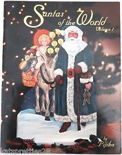Santas of the World Vol 1 by Pipka Tole Painting Book Pattern Santas Nisse's