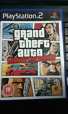 * Sony Playstation 2 Game * GRAND THEFT AUTO - LIBERTY STORIES * PS2 GTA + map