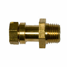 "Cast Iron Radiator - Bleed Valve Screw / Vent / Air 1/8"" Brass"