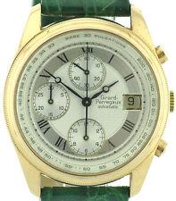 Girard Perregaux Herren Vintage Chronograph 750/18k Gold 90'er Jahre Ref. 4910