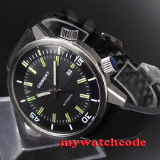 45mm debert Black DIal GMT 21 jewels Miyota 821A Movement Automatic mens Watch20