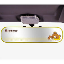 San-X Rilakkuma Wide Rear View Mirror / Car Room Mirror RK104 (yellow)