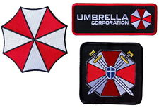 Resident Evil Umbrella Corporation Costume Cosplay Patches Set of 3