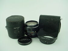 Pentax 28mm F/3.5 Super Multi Coated Takumar M42 mount lens w/hood, case - Clean